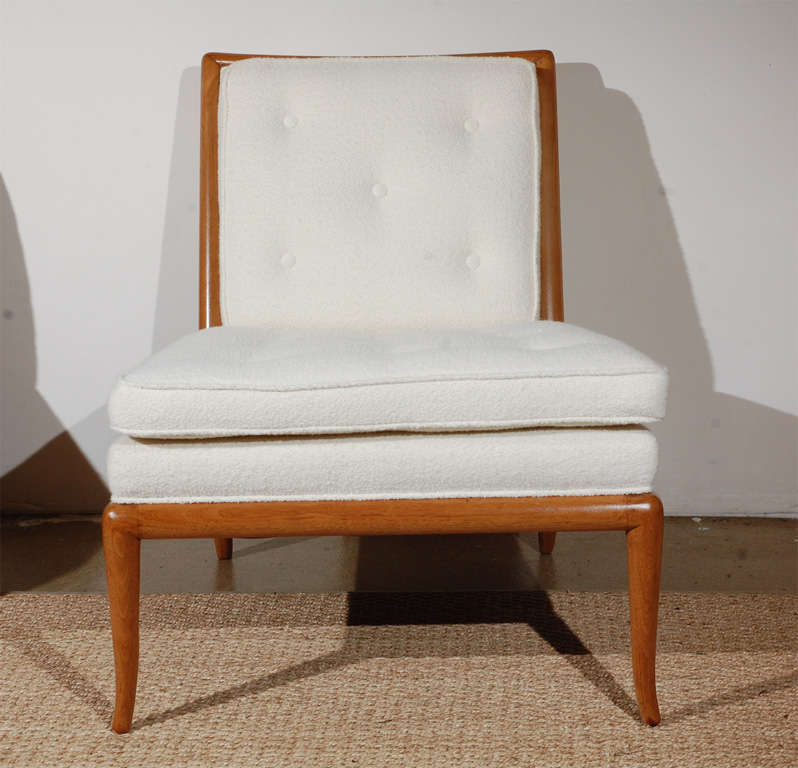 Pair of T.H. Robsjohn Gibbings for Widdicomb Slipper Chairs image 3
