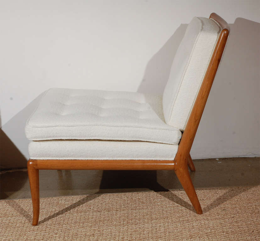 Pair of T.H. Robsjohn Gibbings for Widdicomb Slipper Chairs image 5
