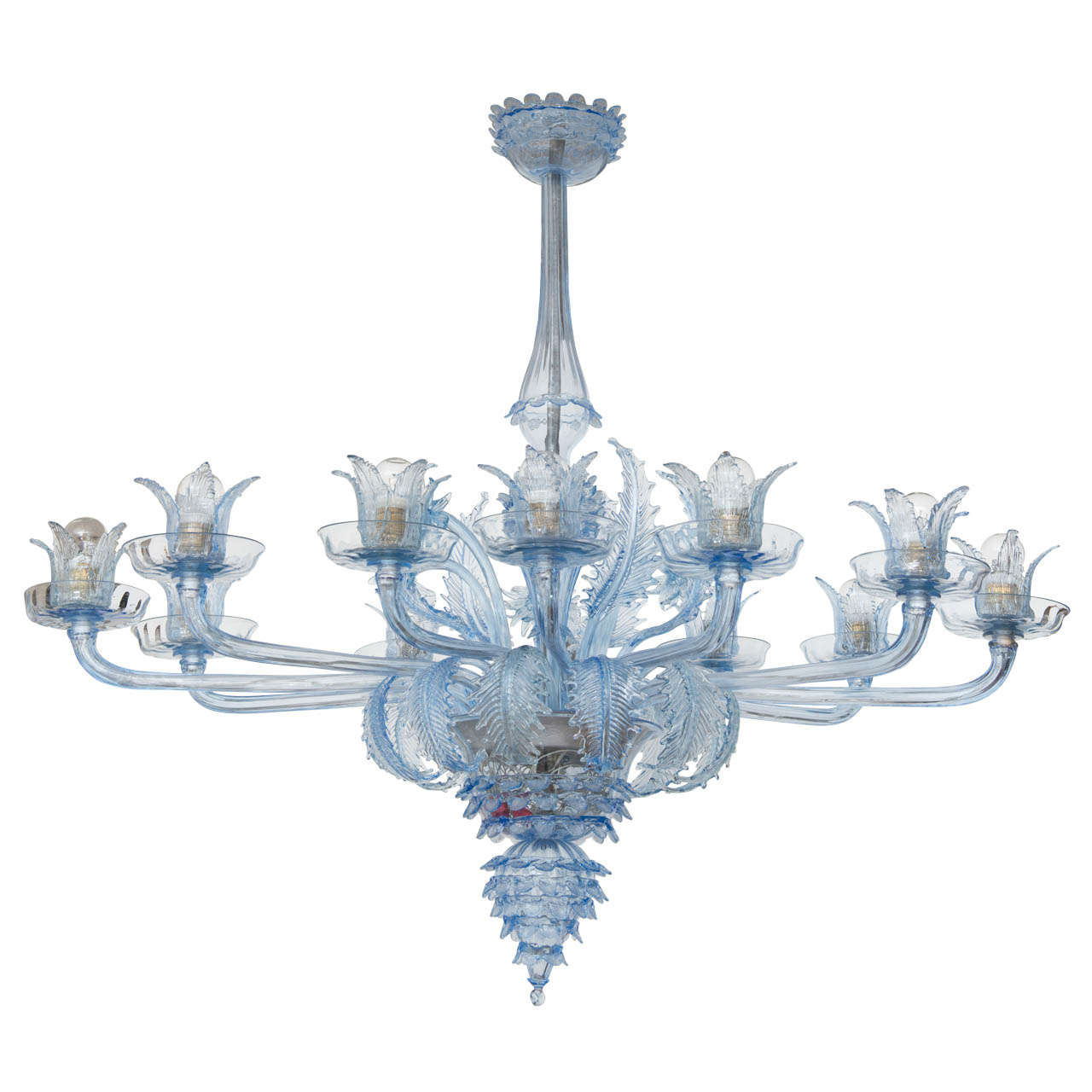 venetian chandelier by barovier e toso for sale at 1stdibs. Black Bedroom Furniture Sets. Home Design Ideas