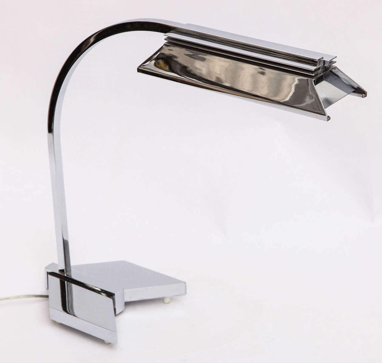 Mid-Century Modern 1960s Futurist Table Lamp Signed Castella Lighting For Sale