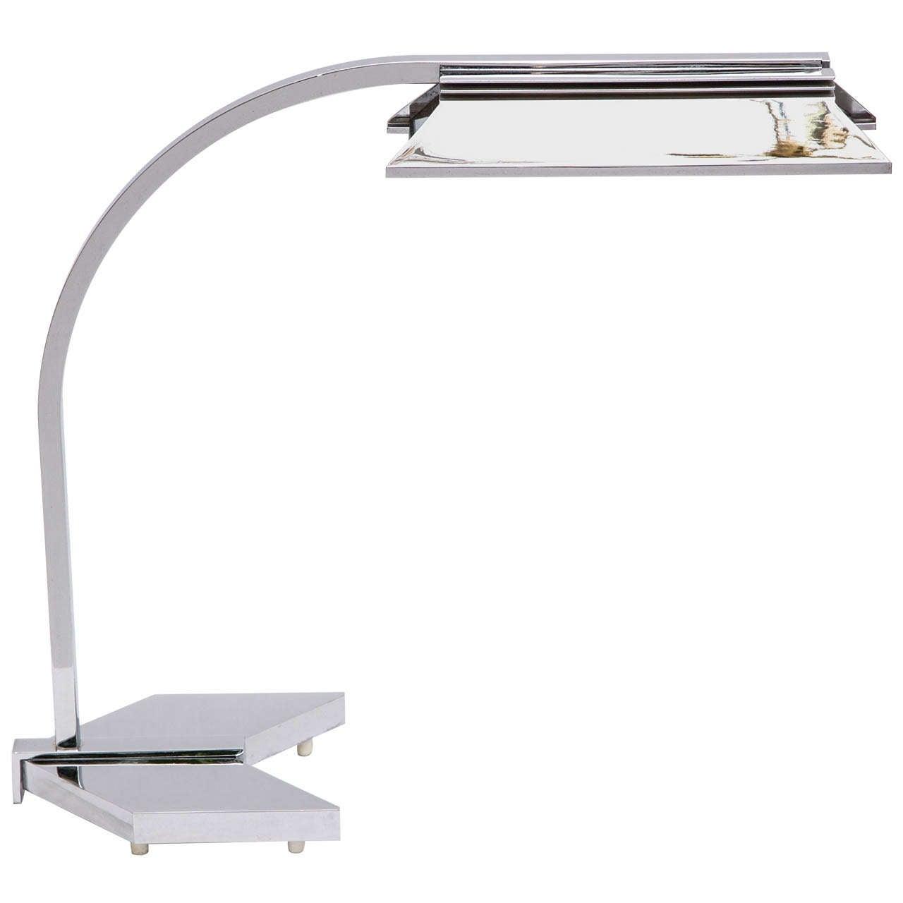 1960s Futurist Table Lamp Signed Castella Lighting