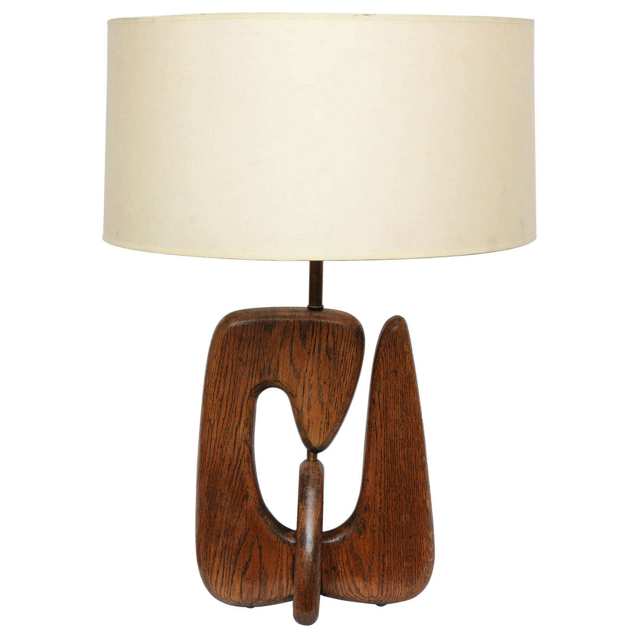 A 1950's Amorphic Table Lamp attributed to Isamu Noguchi ...