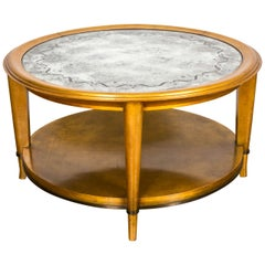 Important Giltwood Coffee Table by A. Arbus and M. Ingrand, 1938