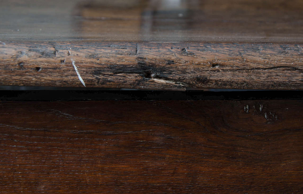 17th Century English Oak Refectory Table 1