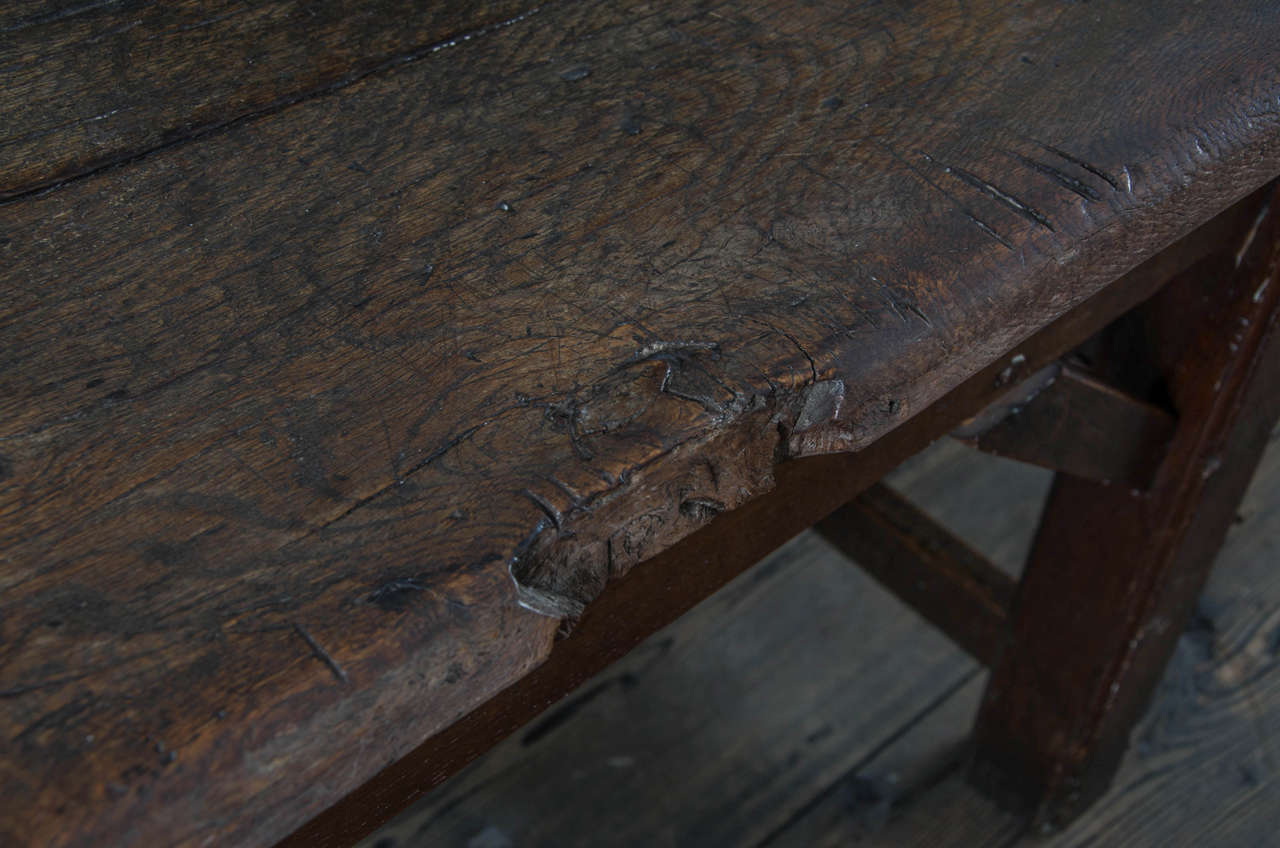 17th Century English Oak Refectory Table 2
