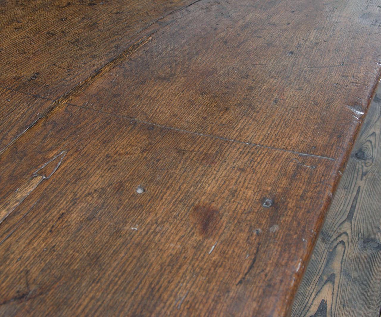 17th Century English Oak Refectory Table 3