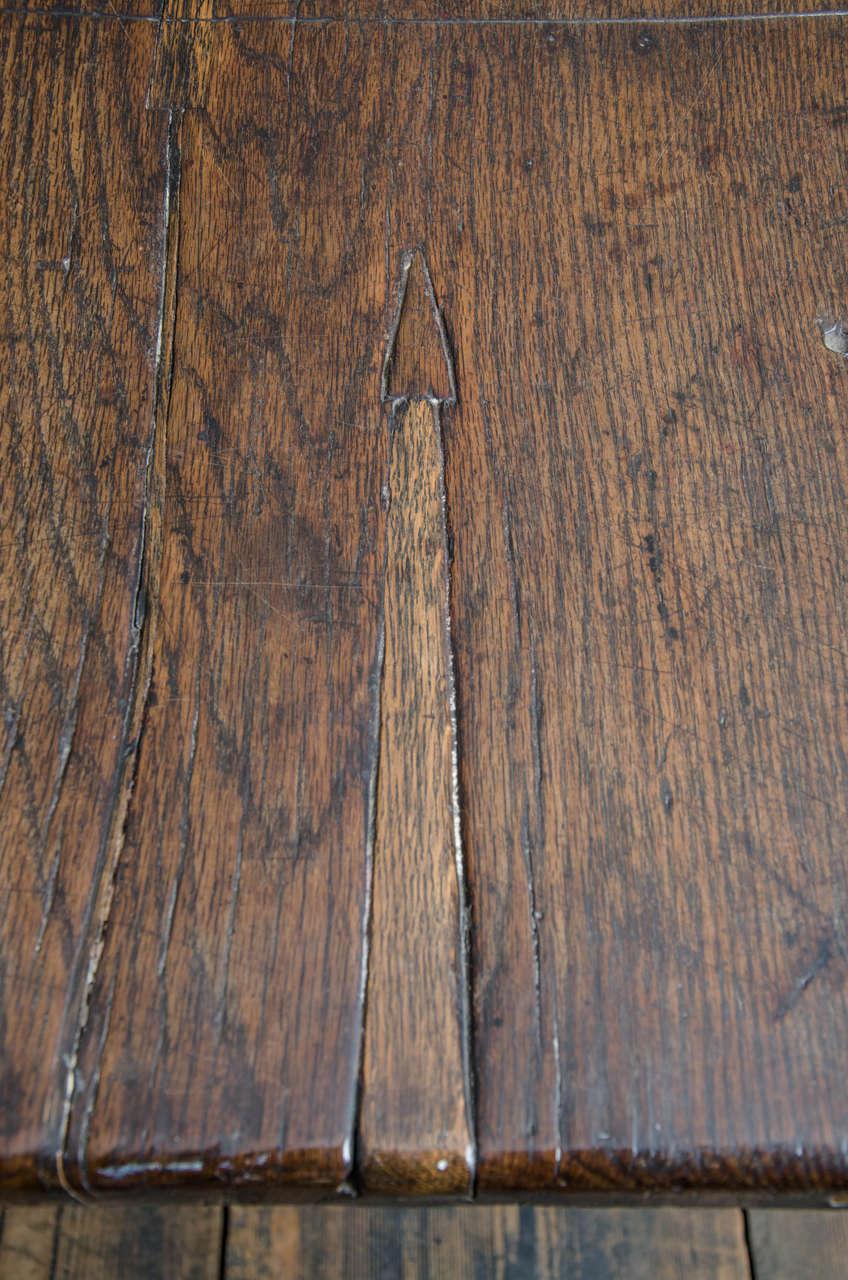 17th Century English Oak Refectory Table 4