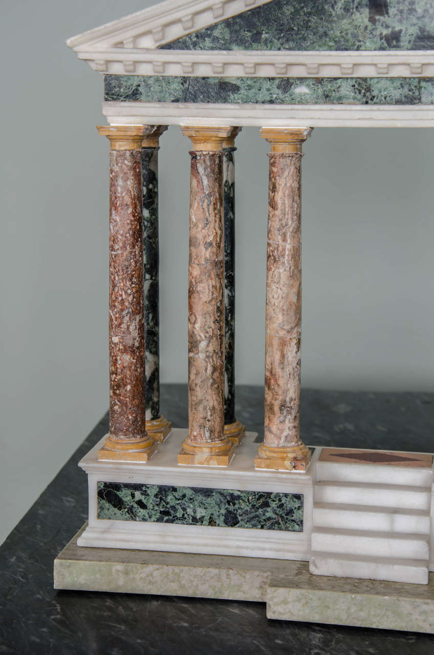 Finely Detailed Grand Tour Model of a Palladian Portico 3