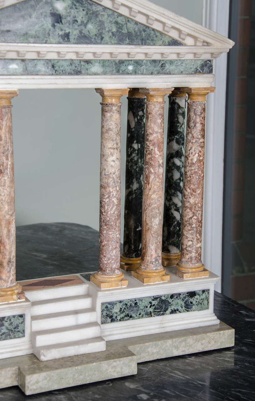 Finely Detailed Grand Tour Model of a Palladian Portico 4