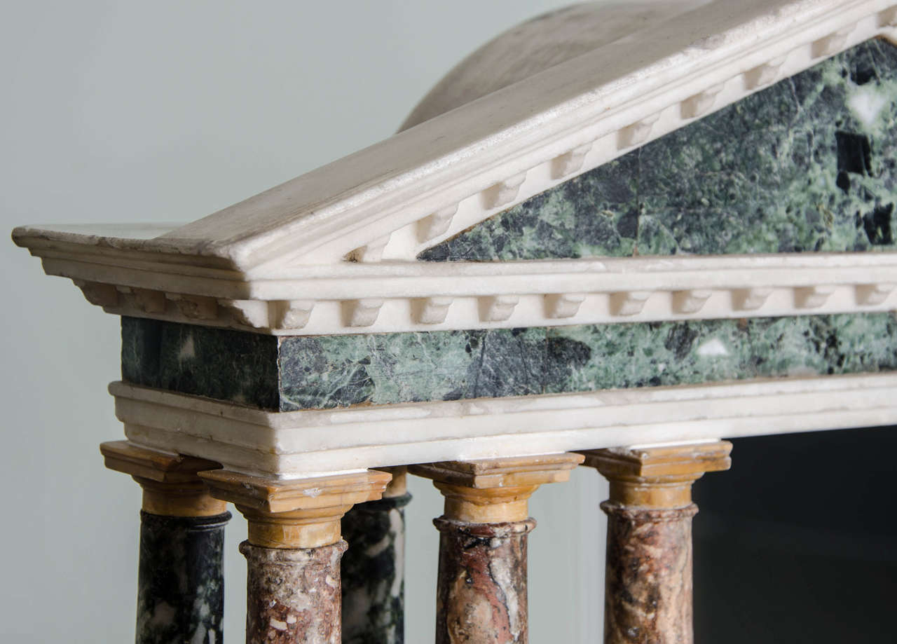 Finely Detailed Grand Tour Model of a Palladian Portico 6