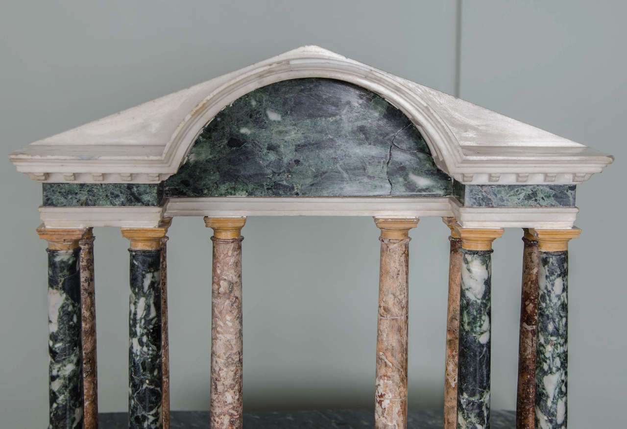 Finely Detailed Grand Tour Model of a Palladian Portico 7