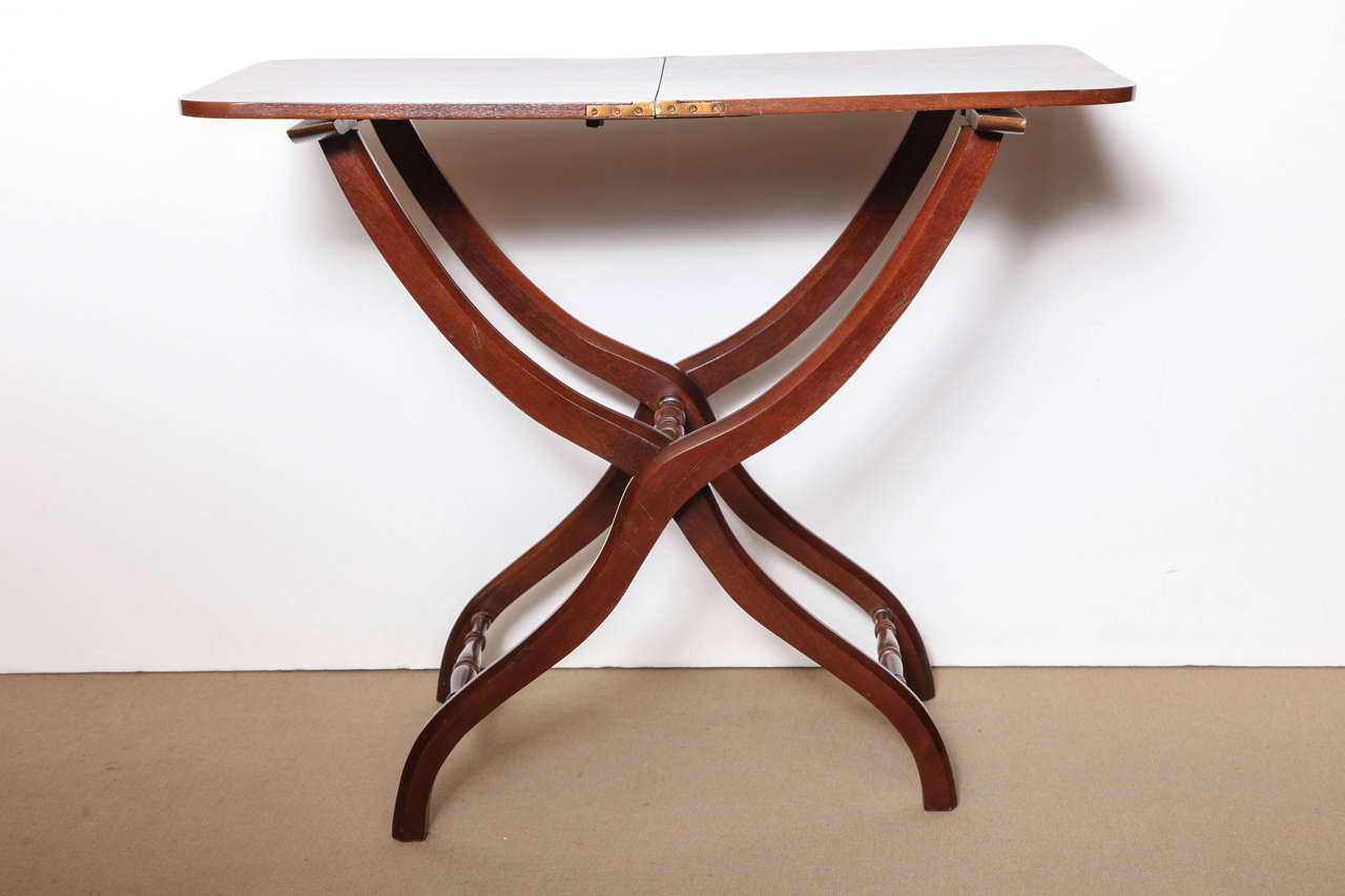 Mid 19th century english mahogany coaching table for sale for Table 52 art smith
