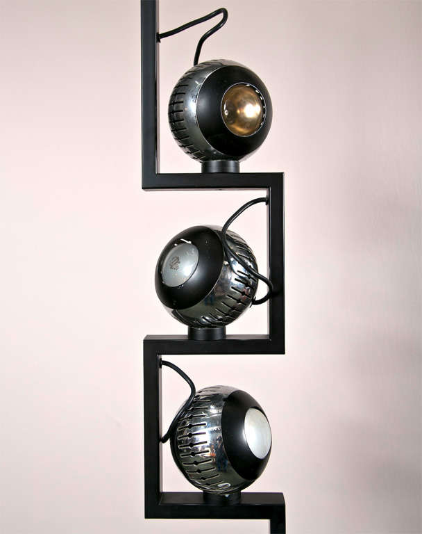 Italian Floor Lamp by Angelo Lelli  For Sale