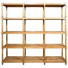 Exact Replica Of Antique Deed Rack From Tacon Hall