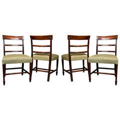 Set Of Four George III Dining Chairs