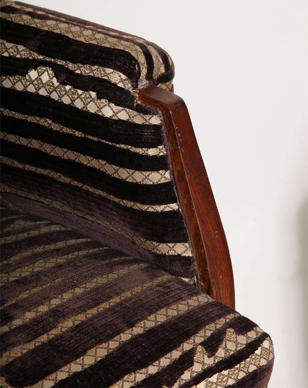 Art Deco Pair of Palissander Armchairs by Émile-Jacques Ruhlmann 9