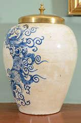 Delftware Jar image 6
