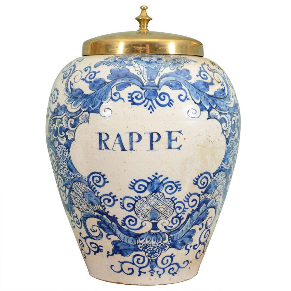 Delftware Jar