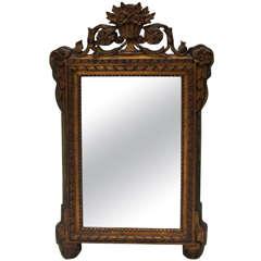 Louis XVI-Style Gilt Mirror