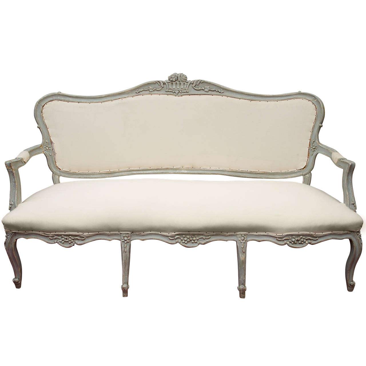 19th century louis xv settee at 1stdibs