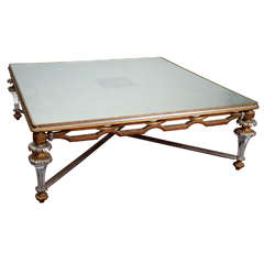 Neoclassical Revival Style Coffee Table