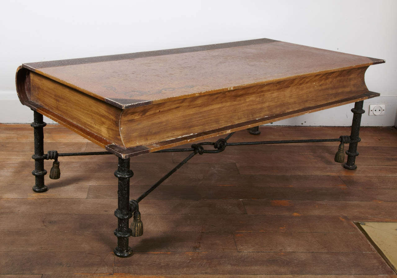 An unusual book coffee table france circa 1960 at 1stdibs for Coffee tables quirky