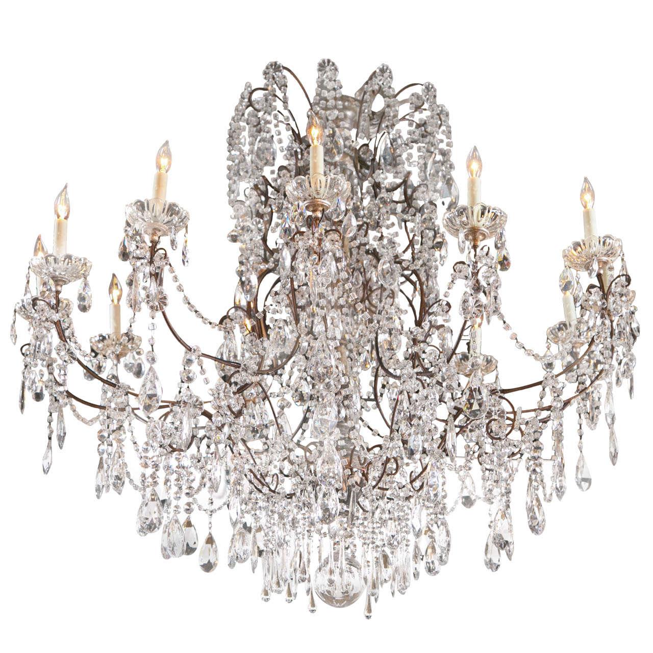 Grand ballroom crystal chandelier for sale at 1stdibs grand ballroom crystal chandelier for sale aloadofball Images