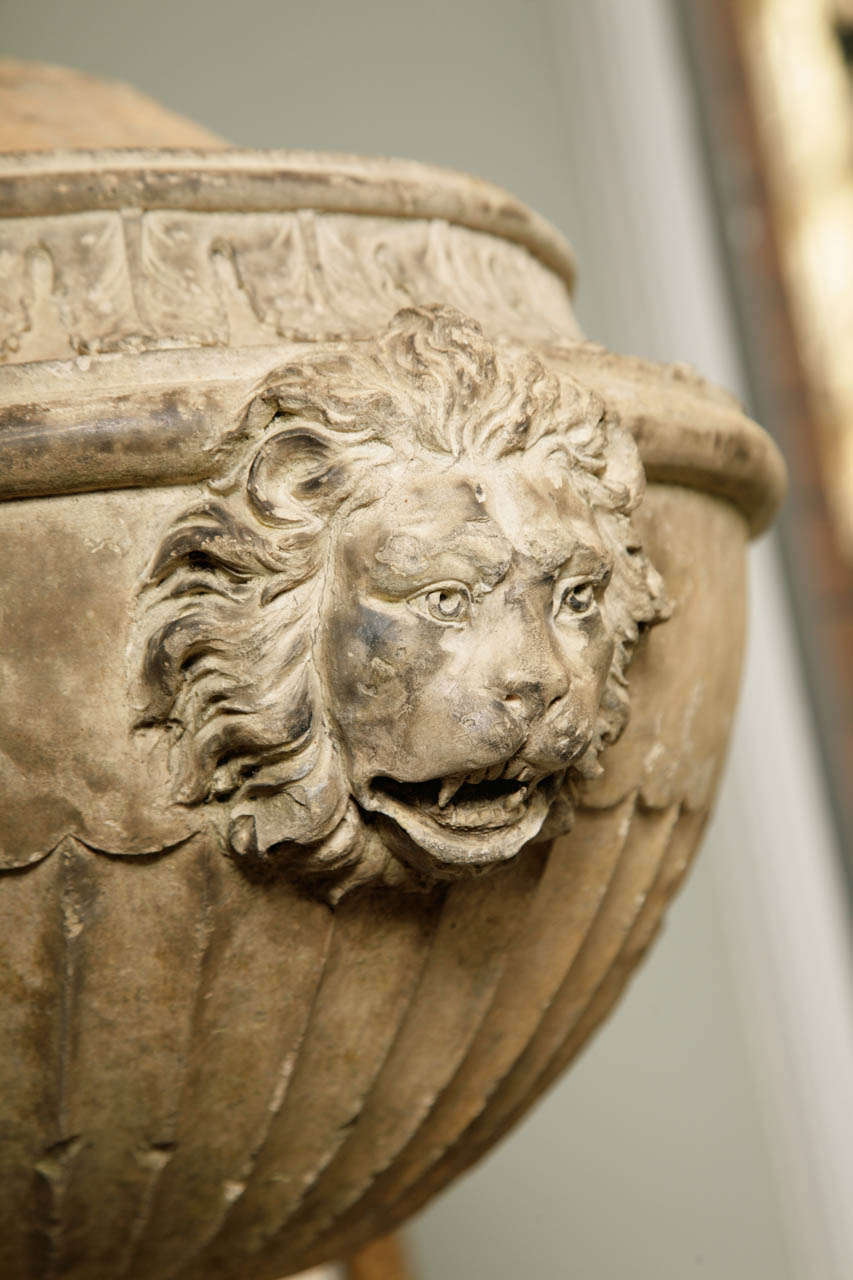 18th Century Coade Stone Urn At 1stdibs