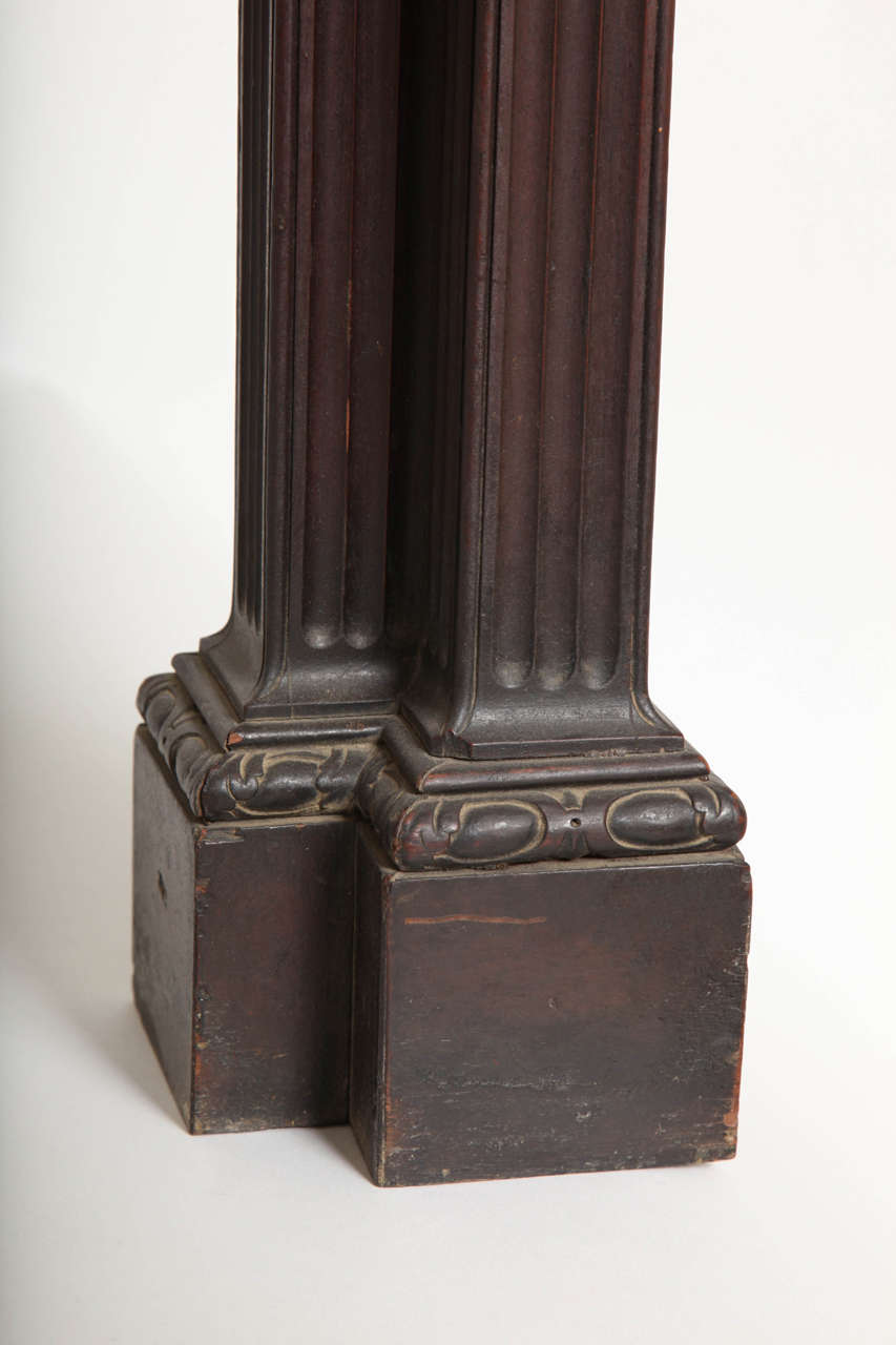 Pair of George II Revival Mahogany Granite-Topped Side Tables, Kentian In Excellent Condition For Sale In New York, NY