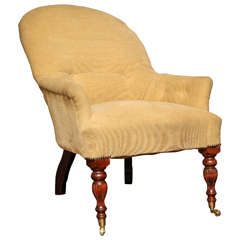 Victorian Lounge Chairs at 1stdibs
