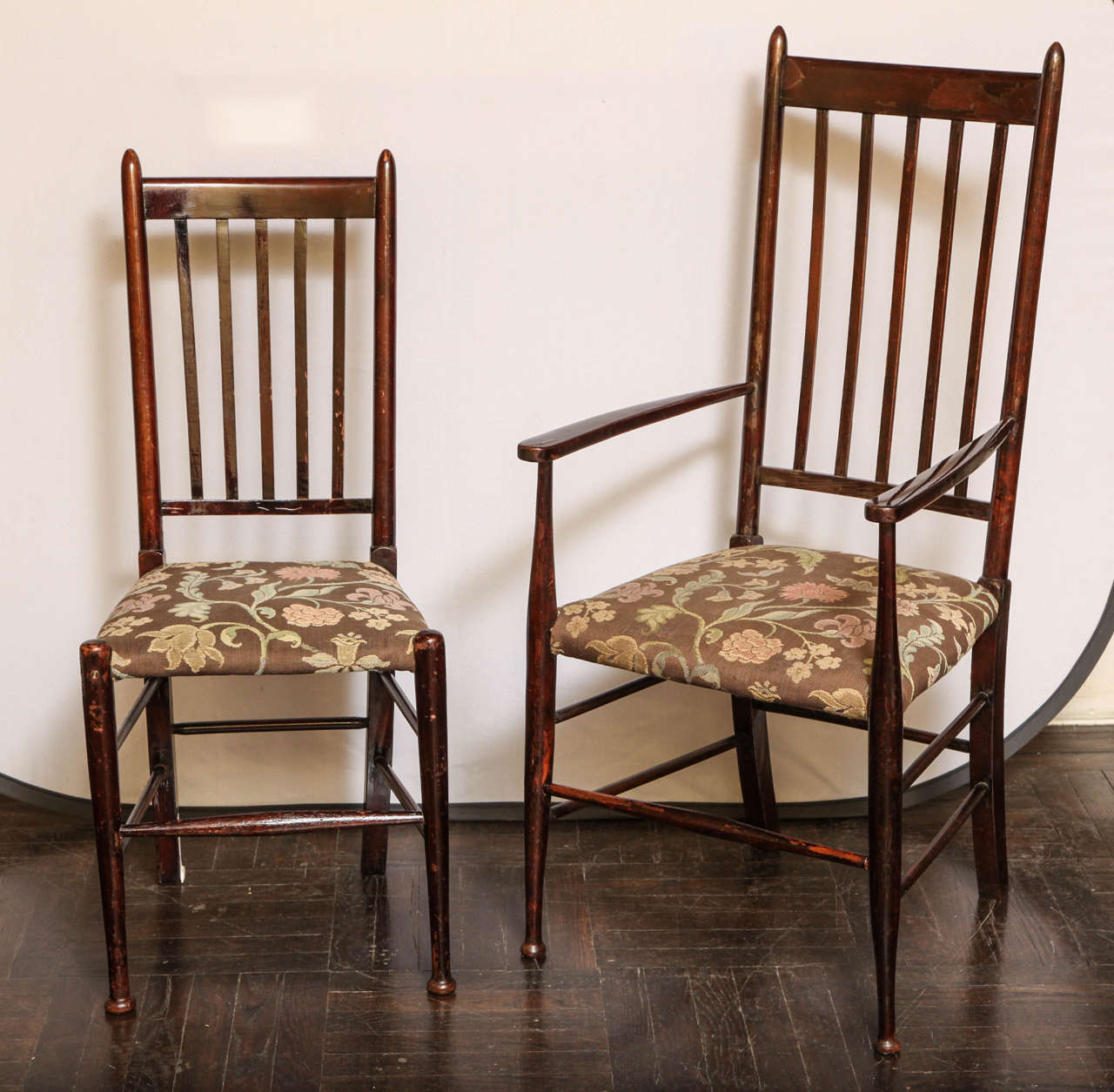 Set of eight glasgow style chairs at 1stdibs - Dining room furniture glasgow ...