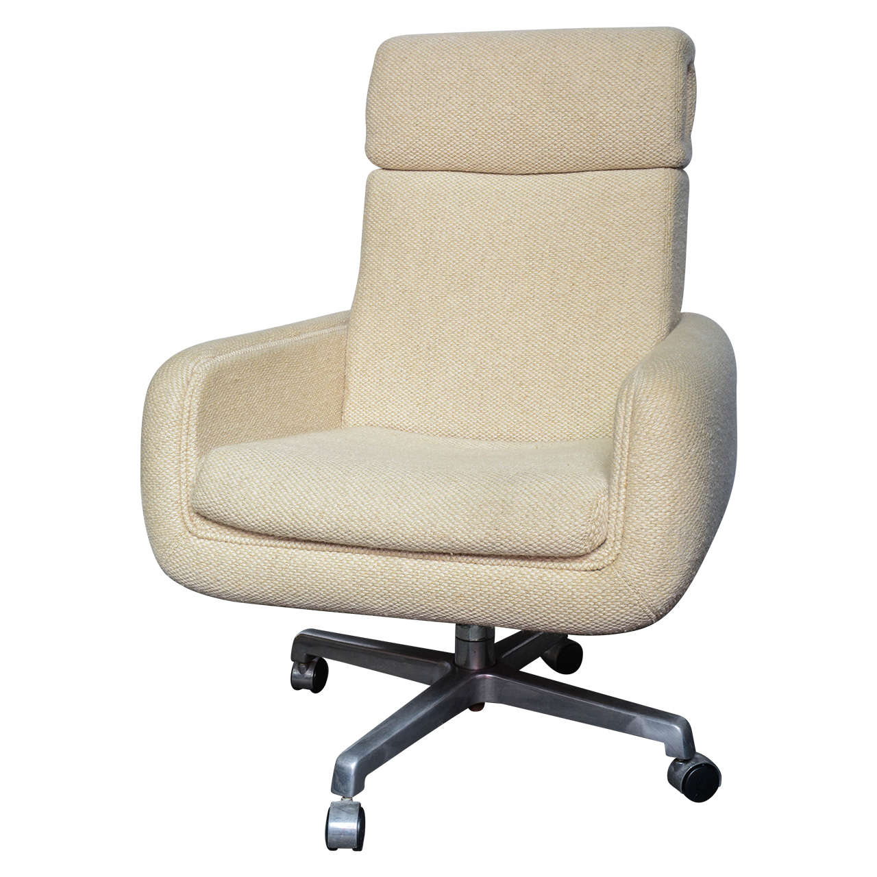 MId-Century Tall Industrial Office Chair By Doerner
