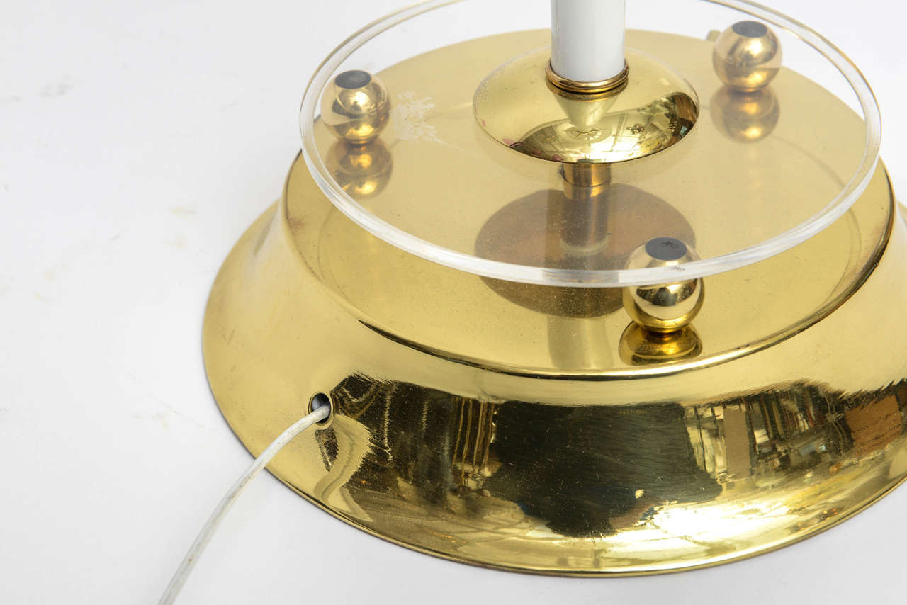 Vintage Sputnik, Atomic-Style Table Lamp In Good Condition For Sale In Miami, FL