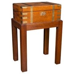 Walnut Lap Desk on Stand