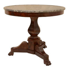 Charles X Marble Top Centre Table