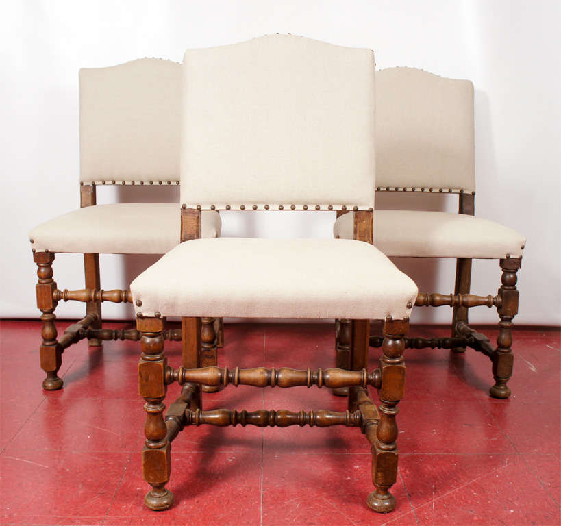 Jacobean Revival Dining Room Set Oak