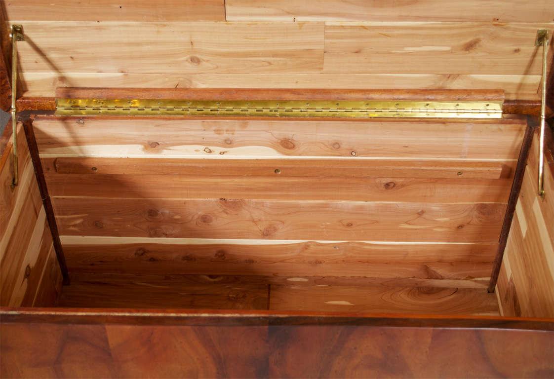 Large Custom Hawaiian Koa Wood Chest At 1stdibs