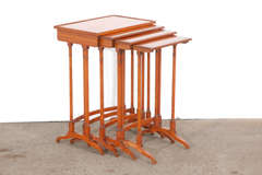 Early 20th C English Nesting Tables image 2