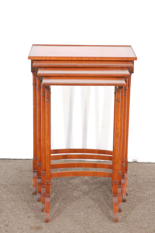 Early 20th C English Nesting Tables 3