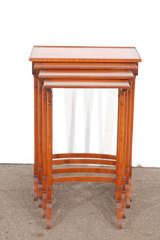 Early 20th C English Nesting Tables image 3