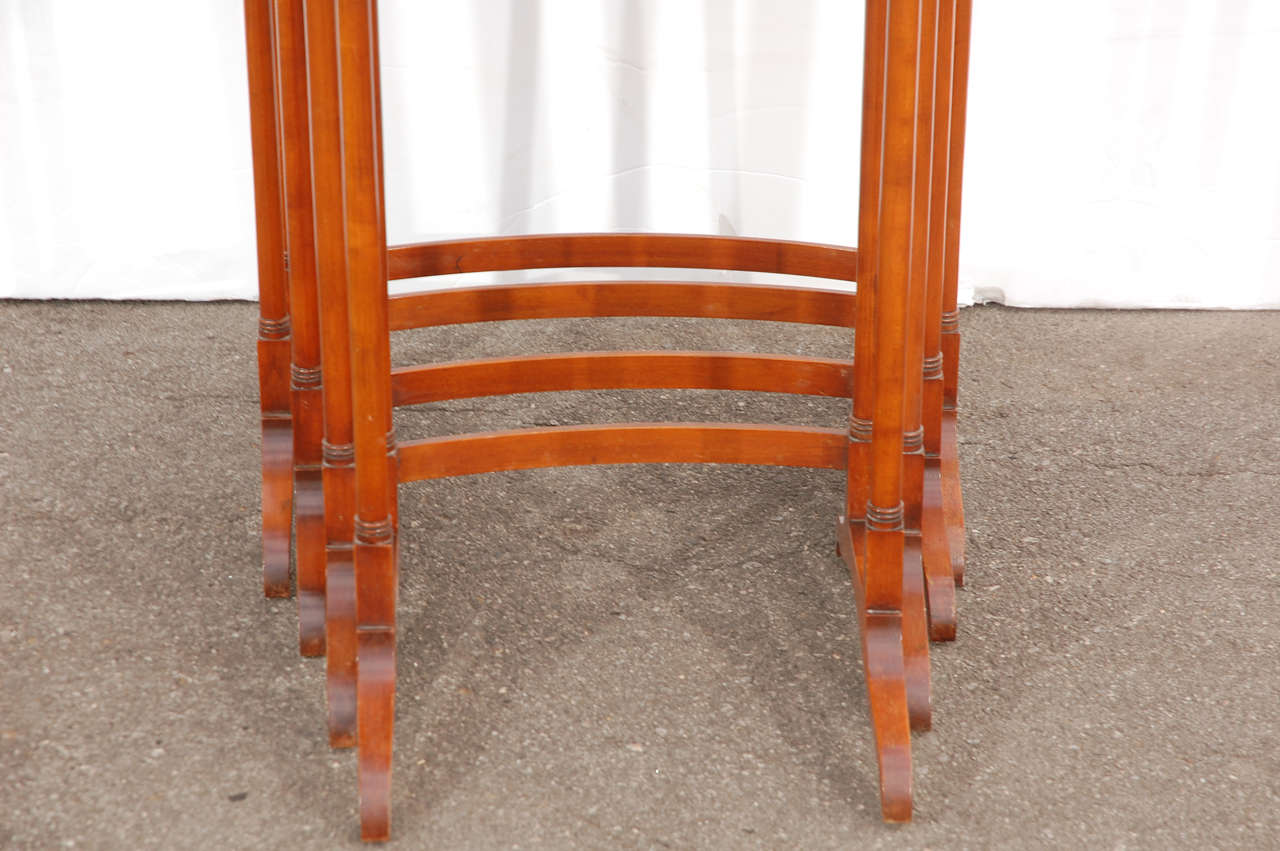 Early 20th C English Nesting Tables 4