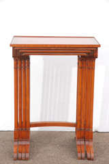Early 20th C English Nesting Tables image 6