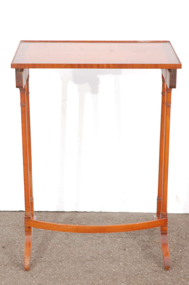 Early 20th C English Nesting Tables 9