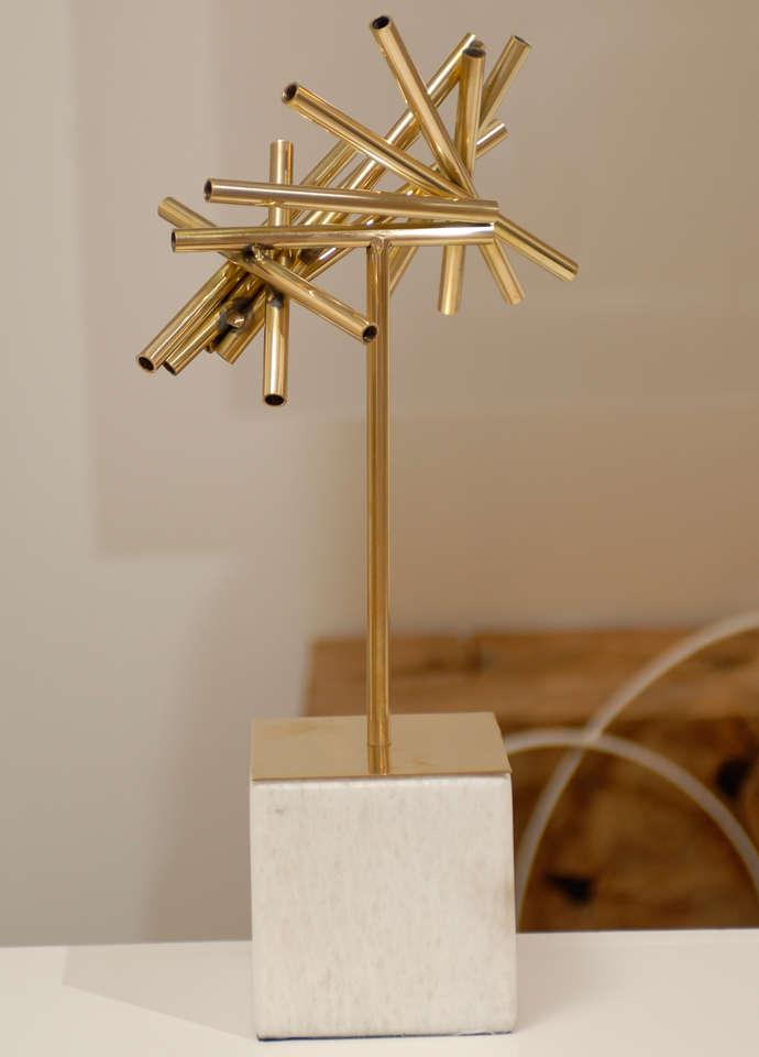 Gold Stick Sculpture For Sale 2
