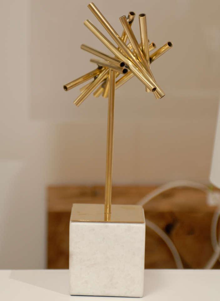 Gold Stick Sculpture For Sale 3
