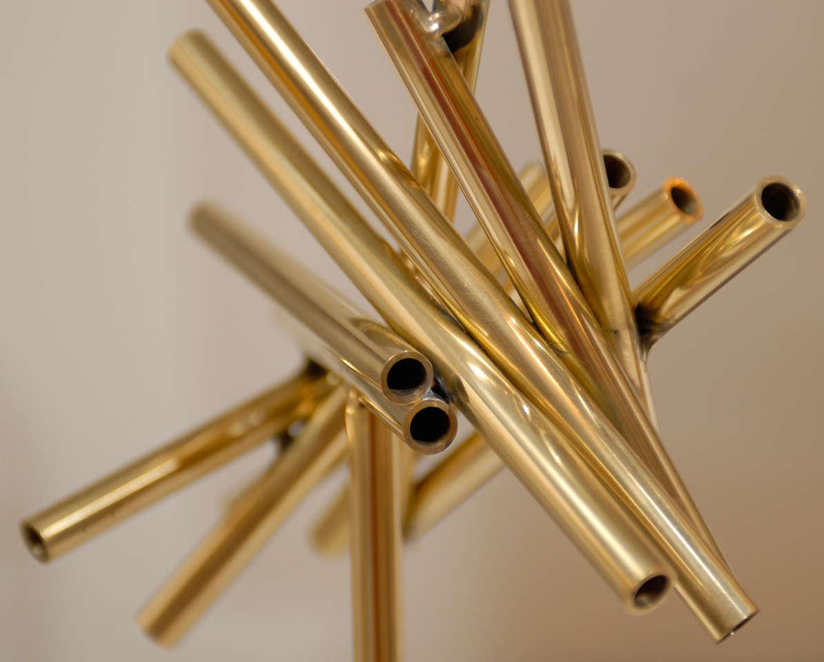 Gold Stick Sculpture For Sale 5