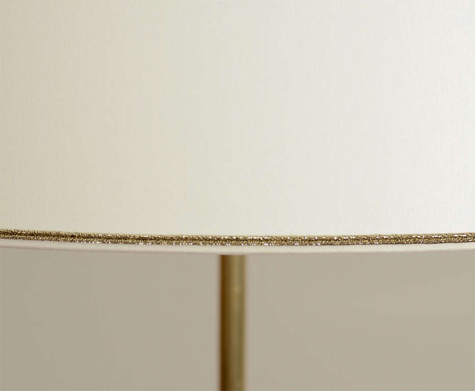 Large Scaled Table Lamp, Handcrafted from Bone 5