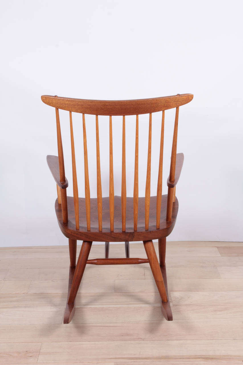 George Nakashima Rocker In Excellent Condition For Sale In New York, NY
