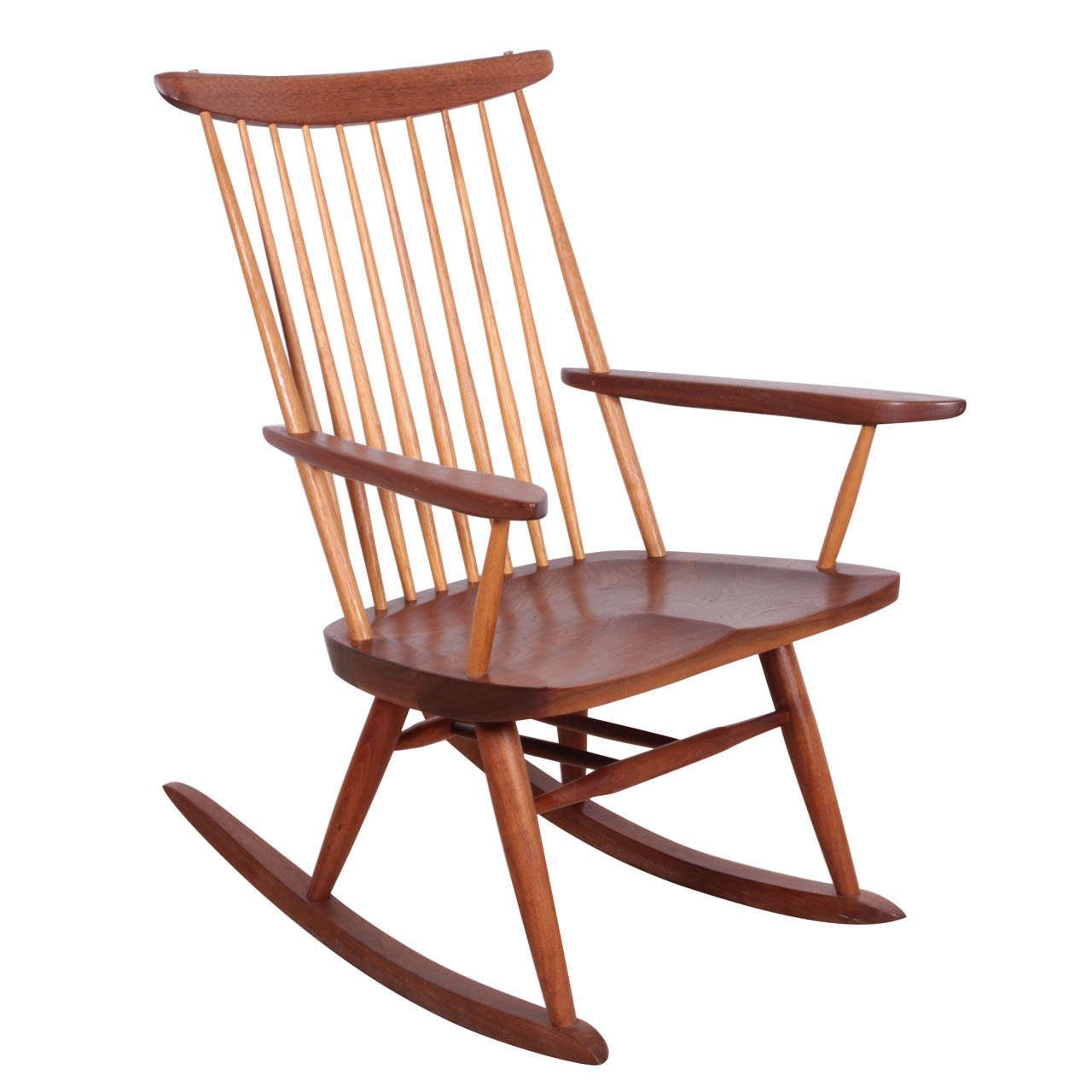 George Nakashima Chairs george nakashima rocker for sale at 1stdibs