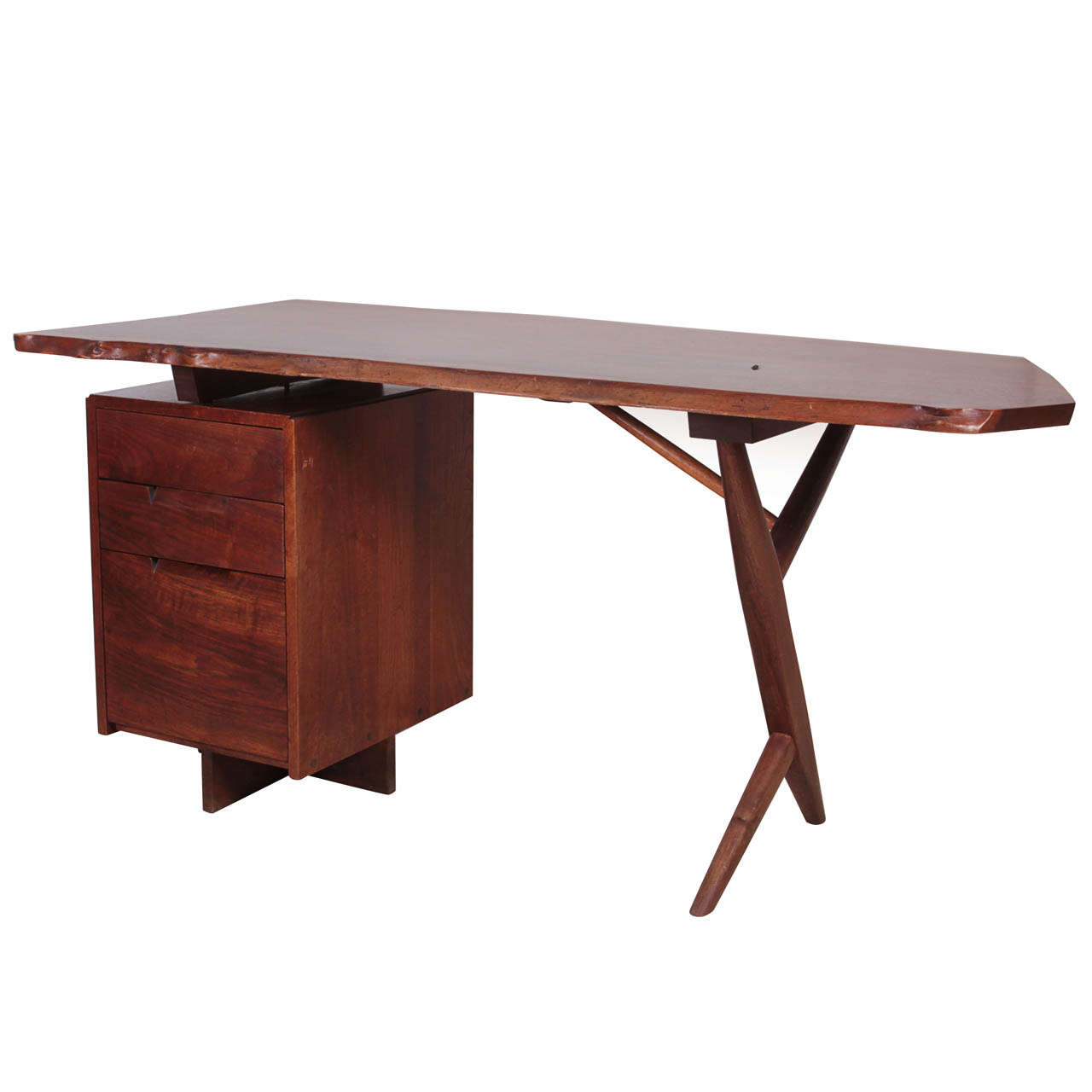 George Nakashima Desk At 1stdibs